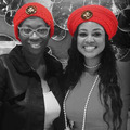 Red Berets Hand Crafted by Lori Jackson