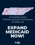 TNDP Expand Medicaid Poster