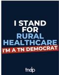 I Support Rural Healthcare Poster