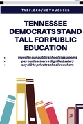Stand for Public Education Poster