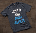 Just a Kid - Triblend Tee (Dark)