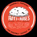 Roti & Roses Button