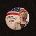 Hillary Clinton Button (Hillary 2016) - 1 Button