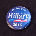 I'm Ready for President Hillary 2016 - 1 Button
