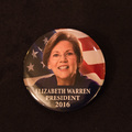 Elizabeth Warren Button - 1 Button