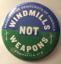 3 Buttons: Windmills not Weapons